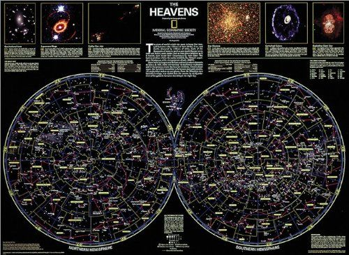 The heavens map type tubed national geographic maps httpswww the heavens map type tubed national geographic maps httpsamazon gumiabroncs Gallery