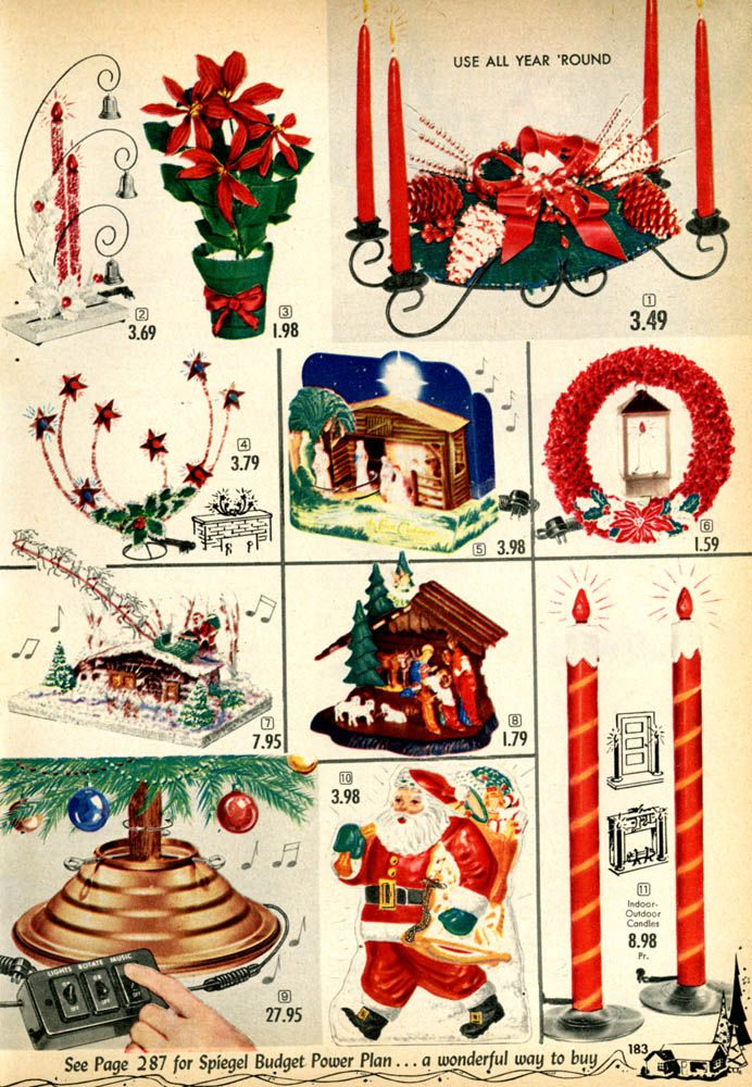 1955-xx-xx Spiegel Christmas Catalog P183 | Childhood | Christmas