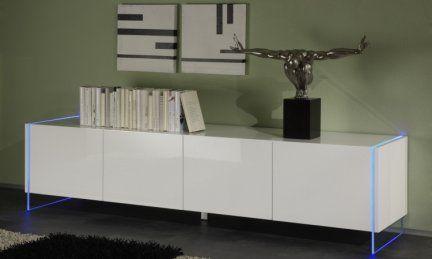 Mobili Vetro Temperato.433 00 Mobile Madia Design Moderno Con Fianchi