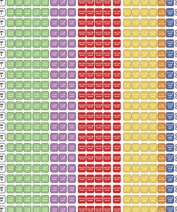 hd image of 1800 2099 21 day fix check sheet 21 day fix pinterest 21 day 21 day fix meal plan