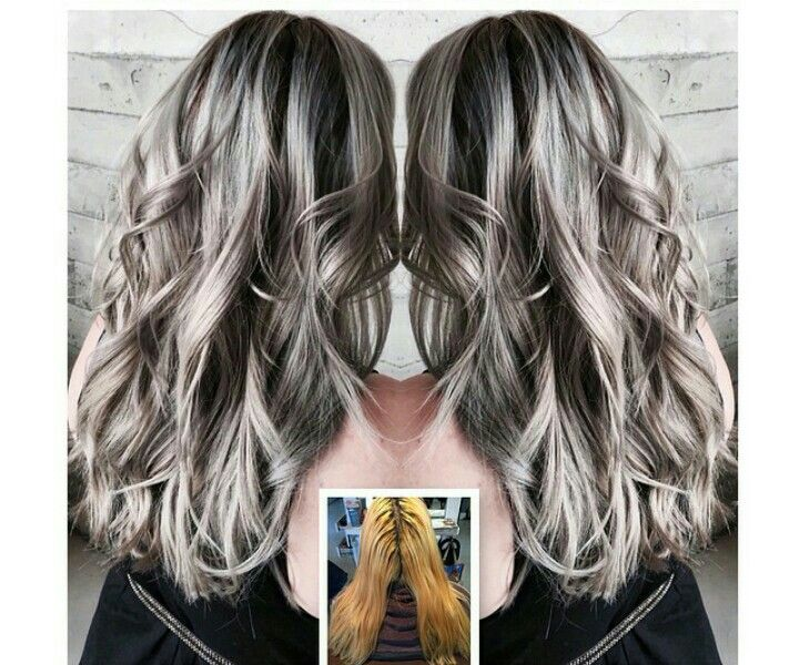 Pin by Kim Myers on My Style | Pinterest | Hair coloring, Grey hair ...