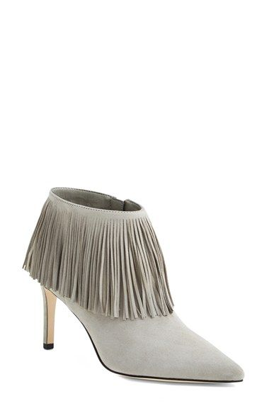 819985f61 Sam Edelman  Kandice  Fringed Suede Pointy Toe Bootie (Women) available at   Nordstrom