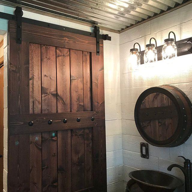 Photo of X Brace Barn Door – Sliding Wooden Door – Barn Door with or without Hardware – Farmhouse Style Door – Rustic – Interior – Barn Door Package