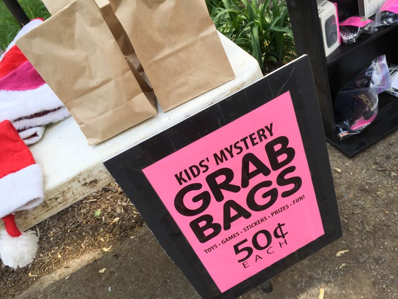 Grab Bags For Kiddos How We Made 1549 In One Weekend Aka My Awesome Yard Tips