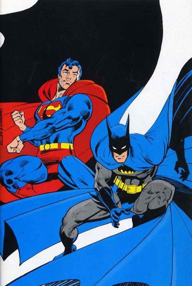 The 30 Plus Year Evolution Of Frank Miller S Superman Robot 6 Comic Book Resources Batman And Superman Dc Comics Artwork Dc Comics Superheroes