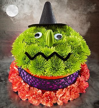 Bewitching Flower CakeTM From 1800Flowers Halloween