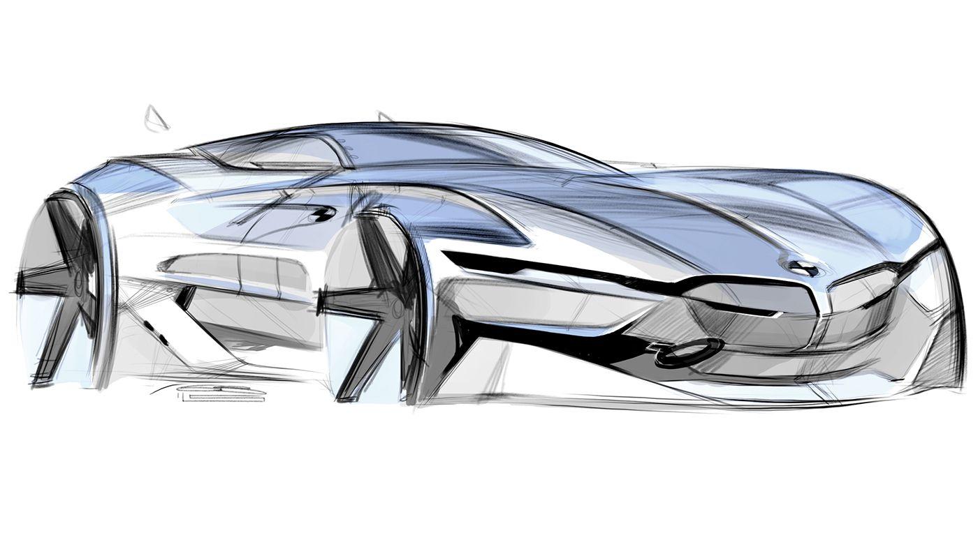Random Sketches Car Design Sketch Car Design Electric Car Concept