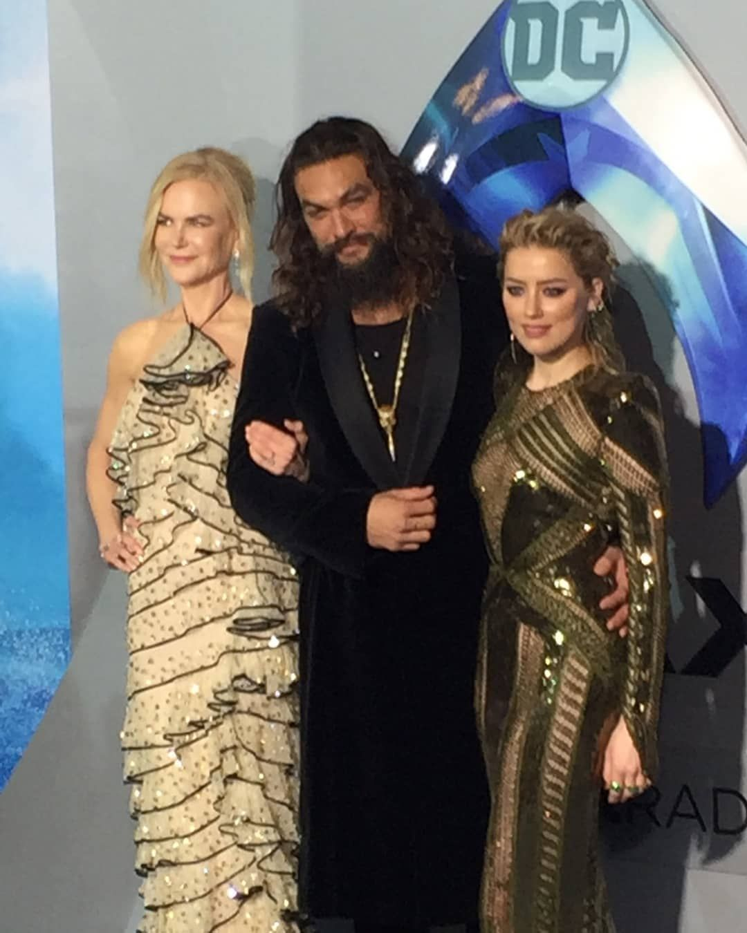 Jason Momoa, Nicole Kidman And Amber Heard L.A. Aquaman