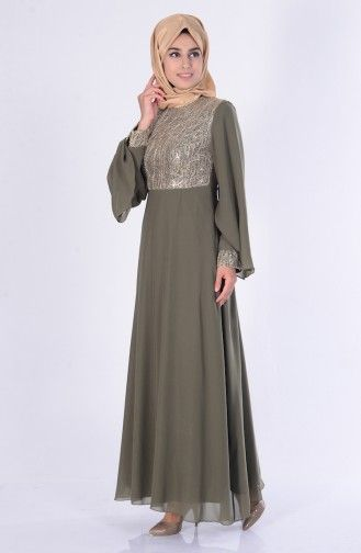 Sefamerve Khaki Dress Musluman Modasi Kiyafet Moda Stilleri
