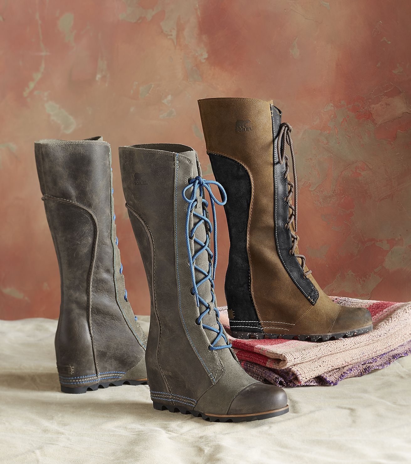 Cate The Great Boots - Sorel®'s classic boots with bold and sinuous curves and a pop of contrast stitching.
