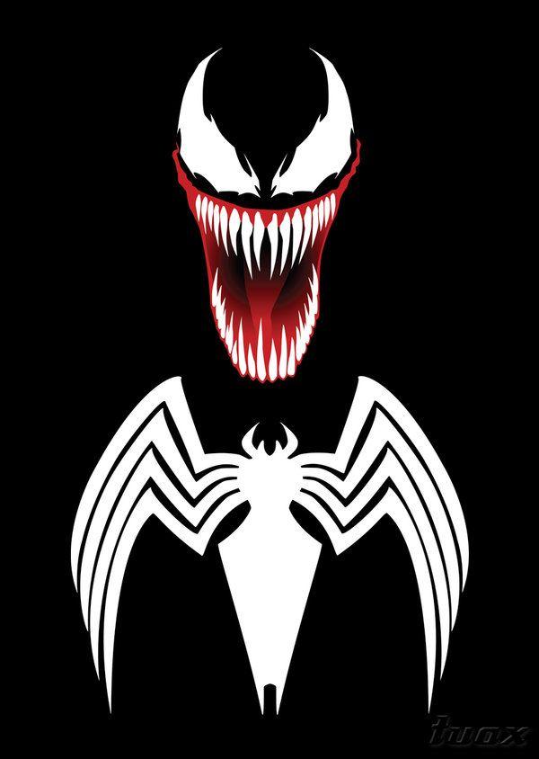 Venom spiderman face licking porn