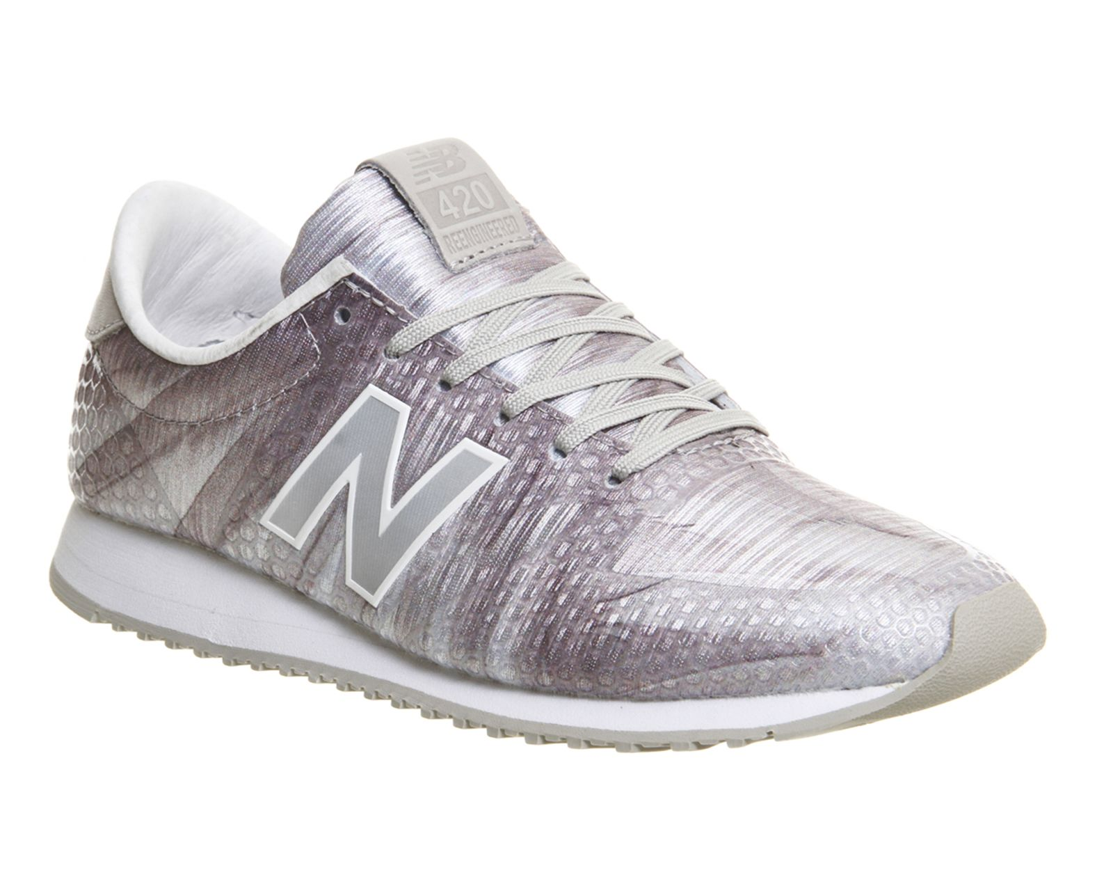2548b3cb56f Buy White Light Grey Feather New Balance U420 from OFFICE.co.uk ...