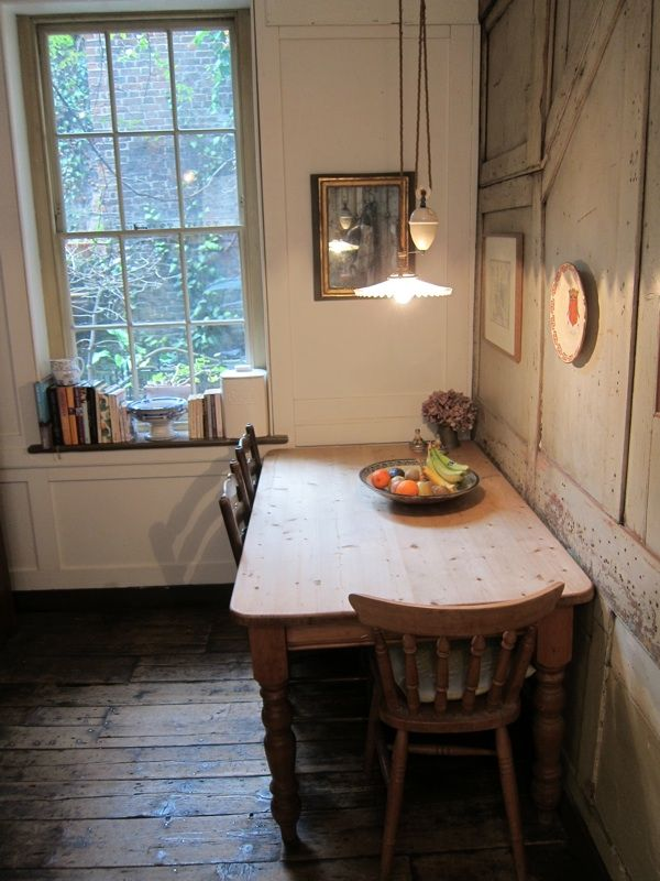 Primitive Dining Rooms Kitchen In 18th Century East London House As It Looks Today