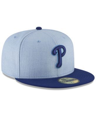 hot sale online 194b8 e4cf0 New Era Philadelphia Phillies Father s Day 59FIFTY Fitted Cap 2018 - Blue 7  1 8