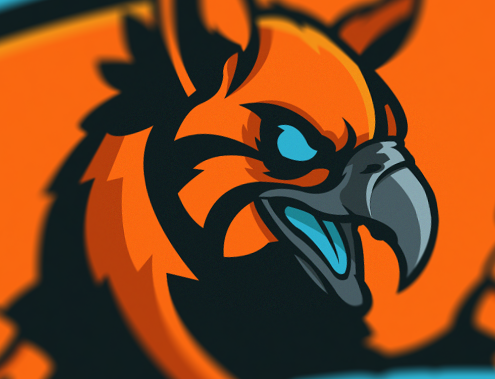 'Hybrid Gaming' Mascot Logo/Sheild on Behance Desain