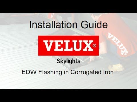 630) VELUX Installation Guide - corrugated iron + EDW ... on