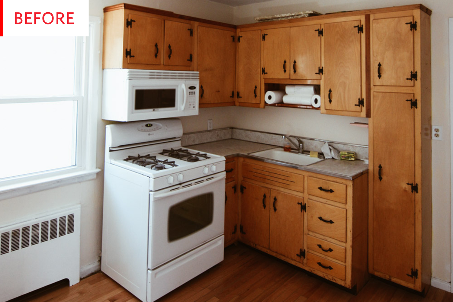 Before And After The Secret To Successfully Painting Old Kitchen
