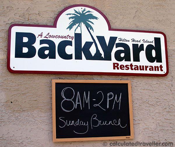 Lowcountry Backyard Restaurant In Hilton Head Island Backyard Restaurant Hilton Head Island Low Country