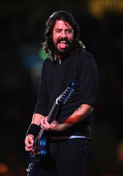 dave grohl hot | Dave Grohl Dave Grohl of American rock band Foo Fighters performs on ...