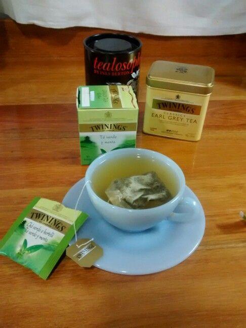 Té verde y menta Twinings