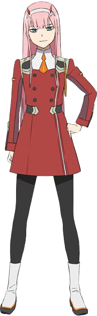 Full Body Transparent Backround Zero Two Image Requested By U Steven Lovera Zerotwo Zero Two Darling In The Franxx Iron Man
