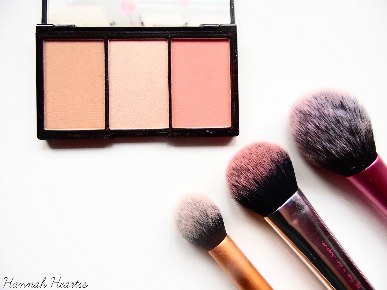 Makeup Revolution Iconic Blush, Bronze and Brighten