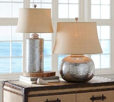 Geena Table Lamp Bases Traditional Table Lamps Pottery Barn