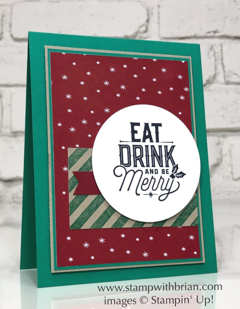 Merry Little Labels, Stampin\' Up!, Brian King, GDP106 | Christmas ...