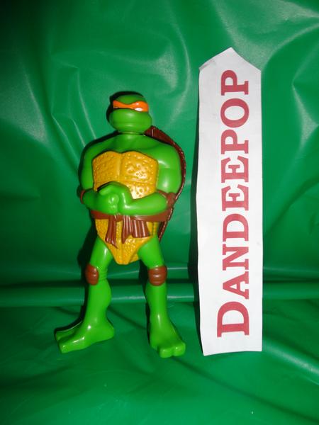 Teenage Mutant Ninja Turtle Tmnt Action Figure Toy Mcdonalds 2007
