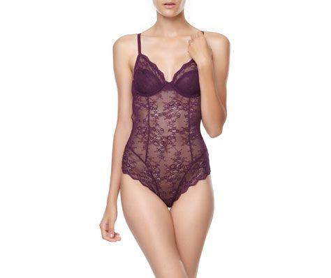 748bbe07c9a0c Product Page - OYSHO | Lingerie 1 | Fashion, Bodysuit, Lace bodysuit