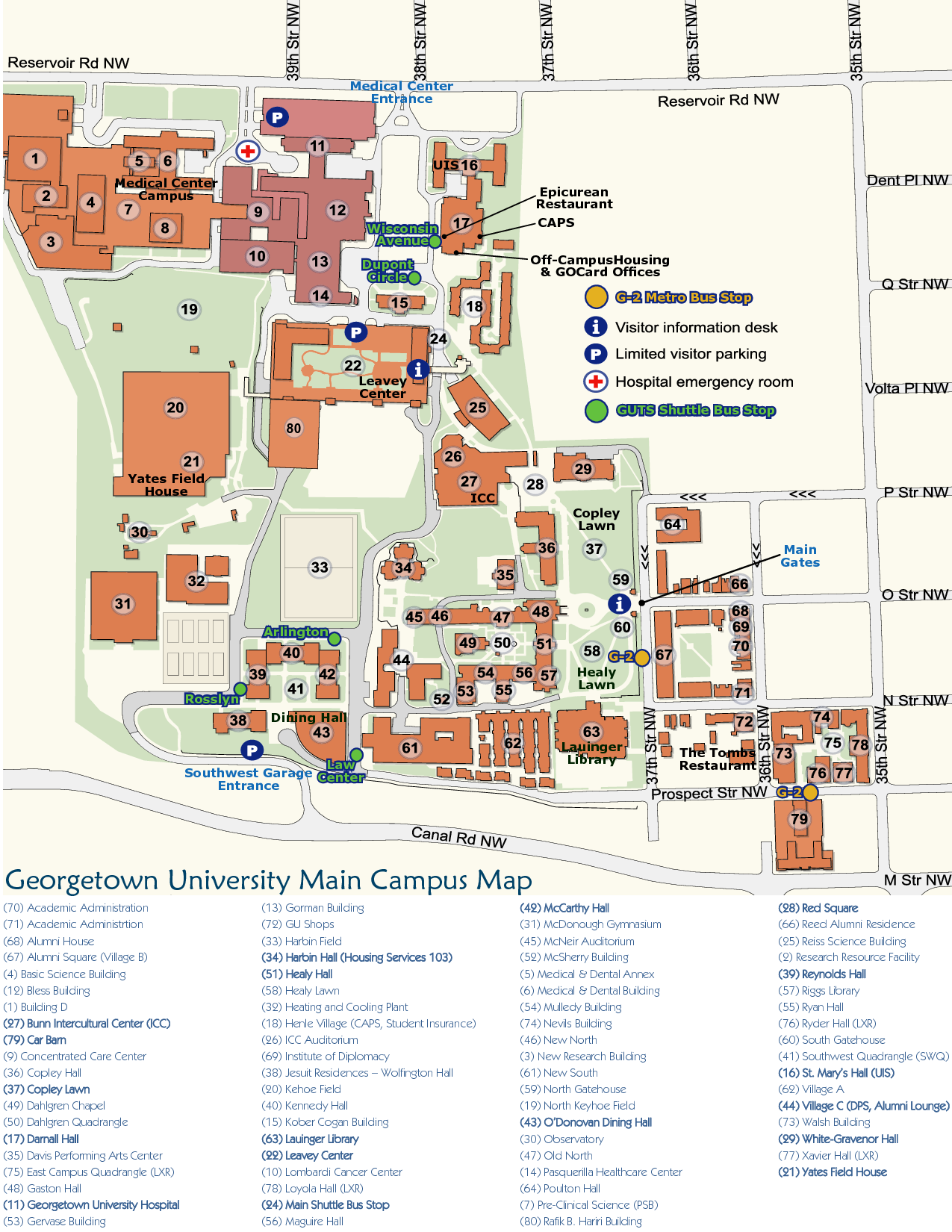Walsh Campus Map.If It S Been A While Since You Ve Been To Campus Reacquaint