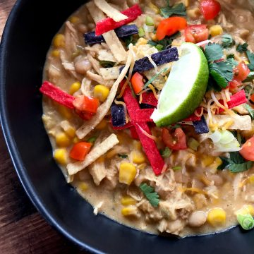 White Chicken Chili Crockpot Recipes Ww