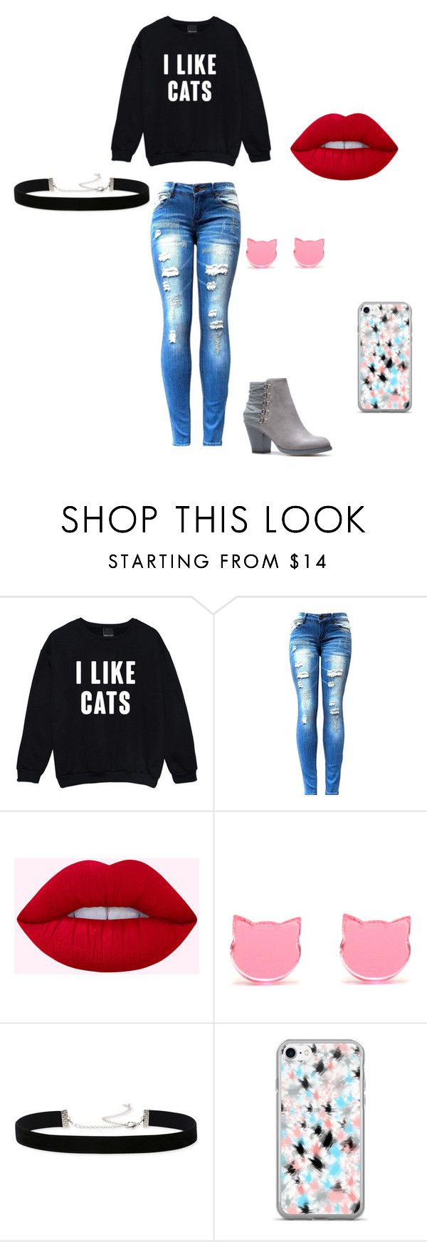 """I like cats"" by rossalynmartin ❤ liked on Polyvore featuring Kale and 2028"