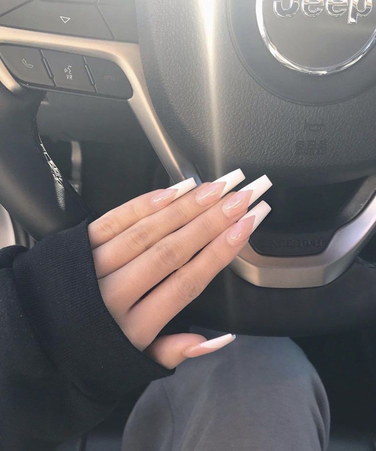 Photo of 30+ Fancy Coffin Acrylic Nails For 2020  ||  Coffin acrylic nails still remain p…