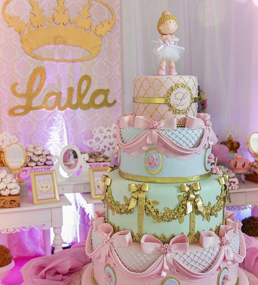 Princesa Com Imagens Decoracao Aniversario Aniversario Bolo
