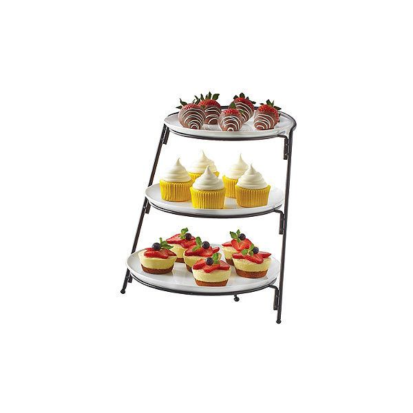 B Smith 3 Tier Server With Graduated Size Plates Liked On