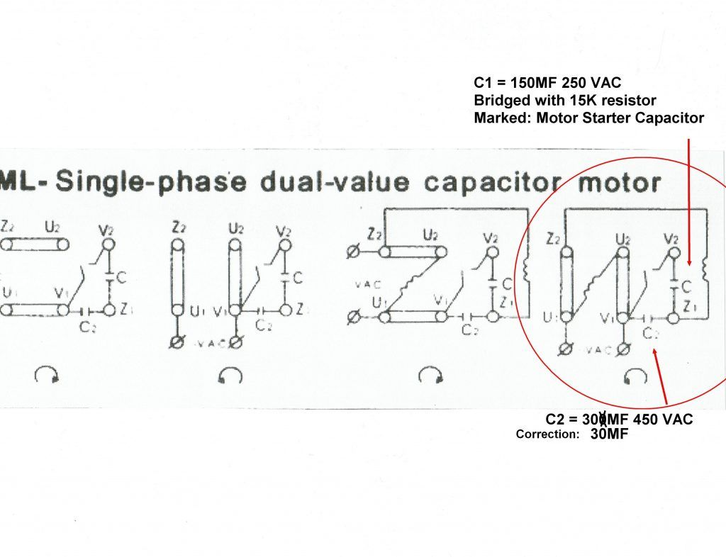 Central Air Conditioner Capacitor Wiring Diagram