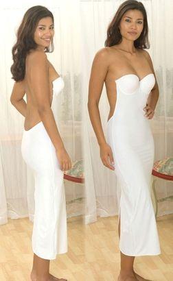 Backless Bra Slip...amazing for those backless floor length ...