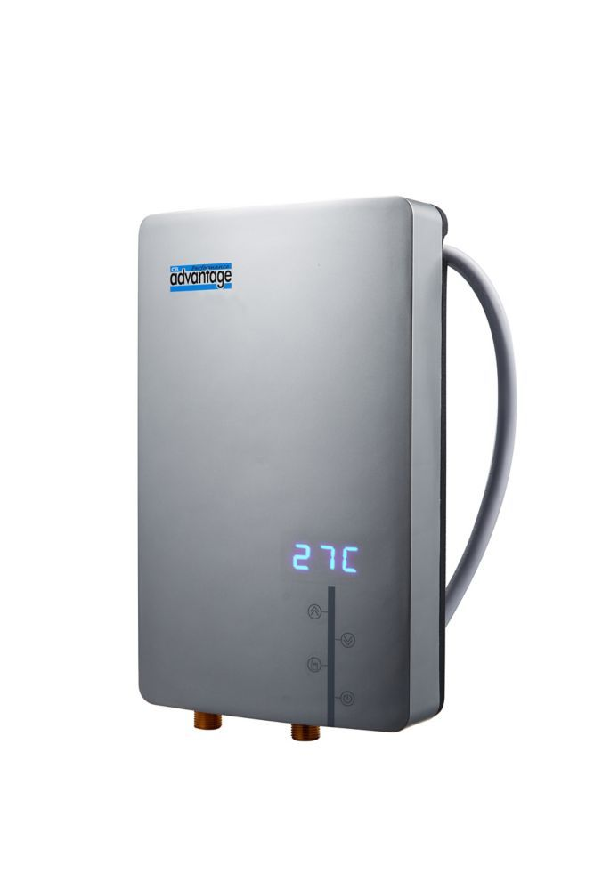 advantage 15kw whole home electric tankless water heater | home