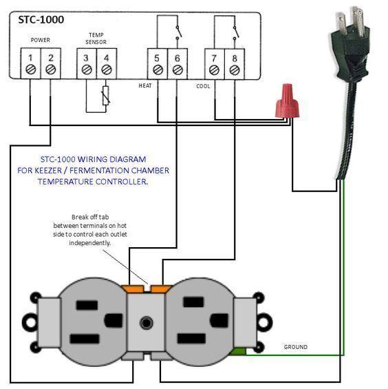 Awe Inspiring Stc 1000 Wiring Diagram Basic Electronics Wiring Diagram Wiring Digital Resources Bioskbiperorg