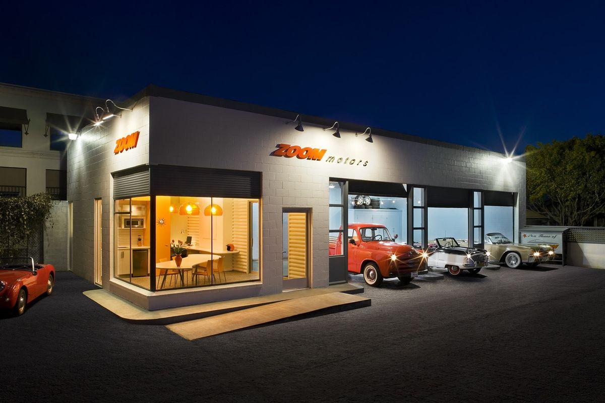 Zoom motors auto stuff pinterest car garage for Automotive shop design