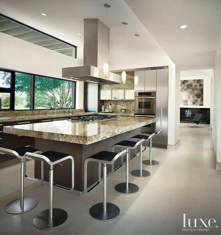 Pin by Lovie on Classy kitchens | Pinterest | Kitchens and Contemporary