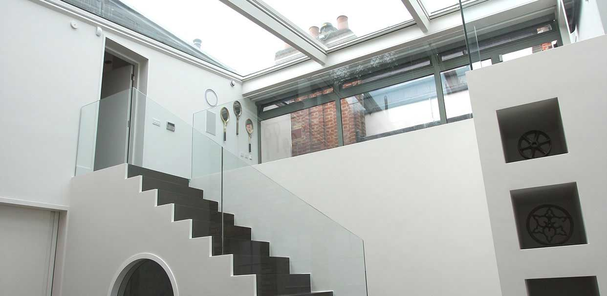 Elm Park Project: Residential refurbishment in London using architectural glazing