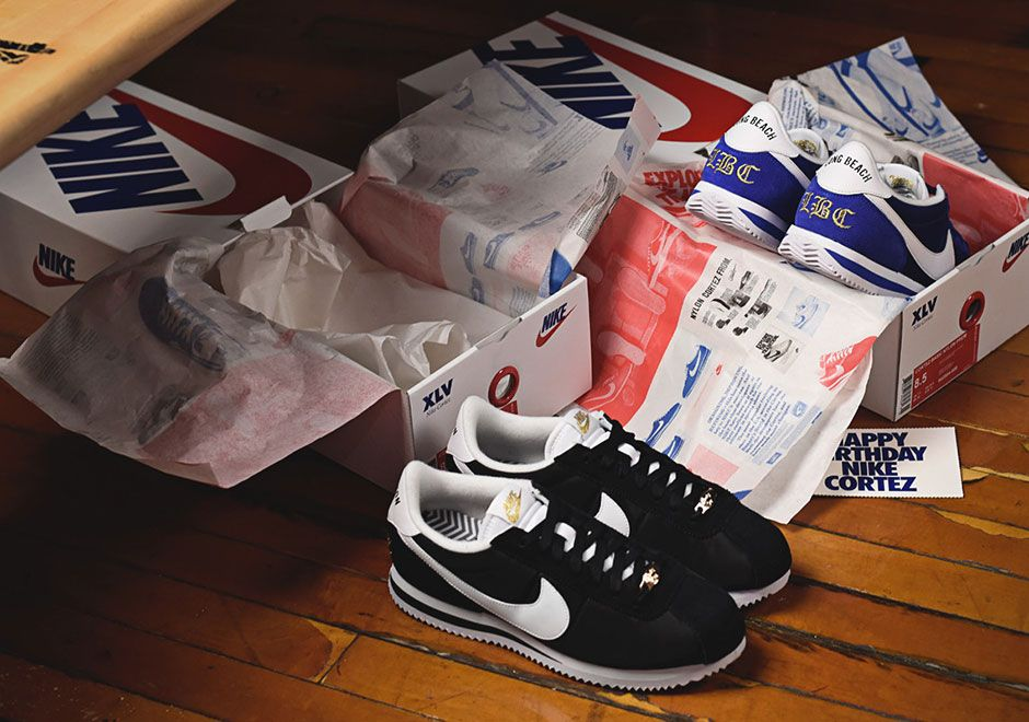 """94bc6c686ddf  sneakers  news Special Shoe Boxes Included With The Nike Cortez """"Compton""""  And """"Long Beach"""""""