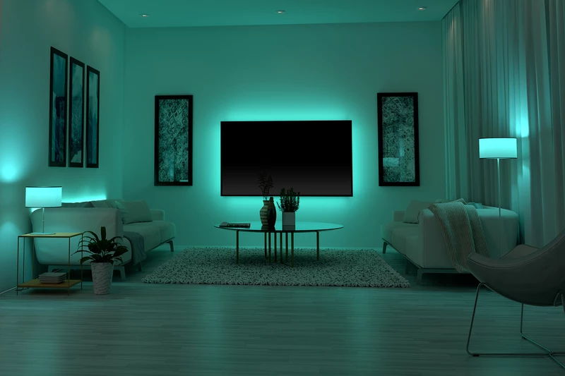 Pin by Leslie on smart lights in 2020 Cool house designs