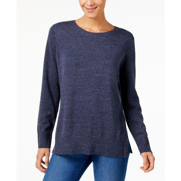 Style Co Cotton Crew Neck Sweater Created For Macys 15