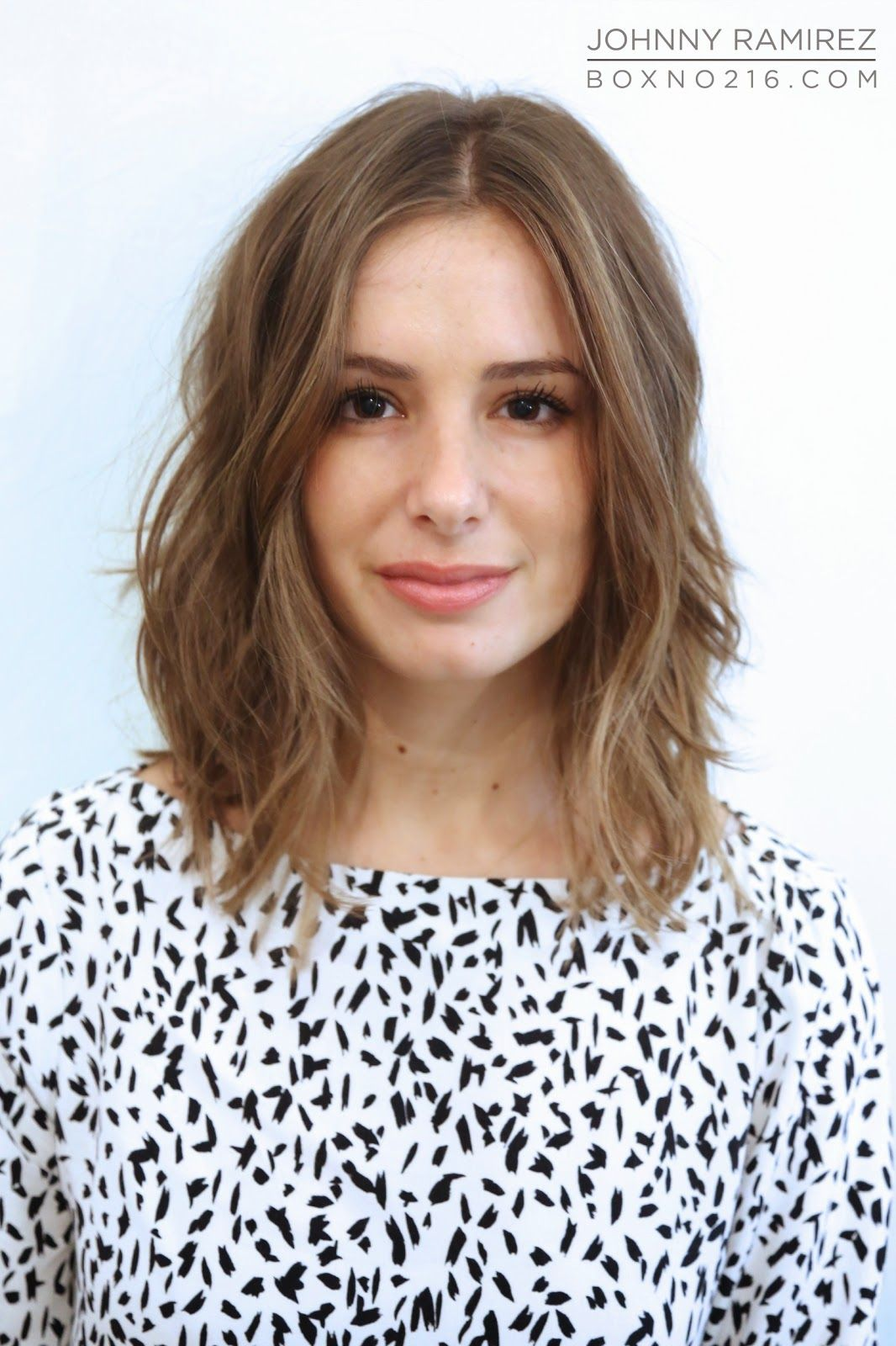 Collarbone Length Hairstyles models hairstyle