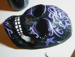 Tattoo Tales: Making of a Sugar Skull Mask