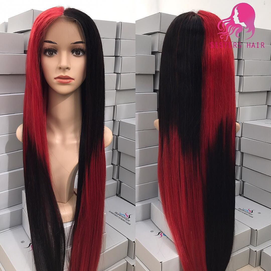 She is ready to ship she is a full lace wig with a natural
