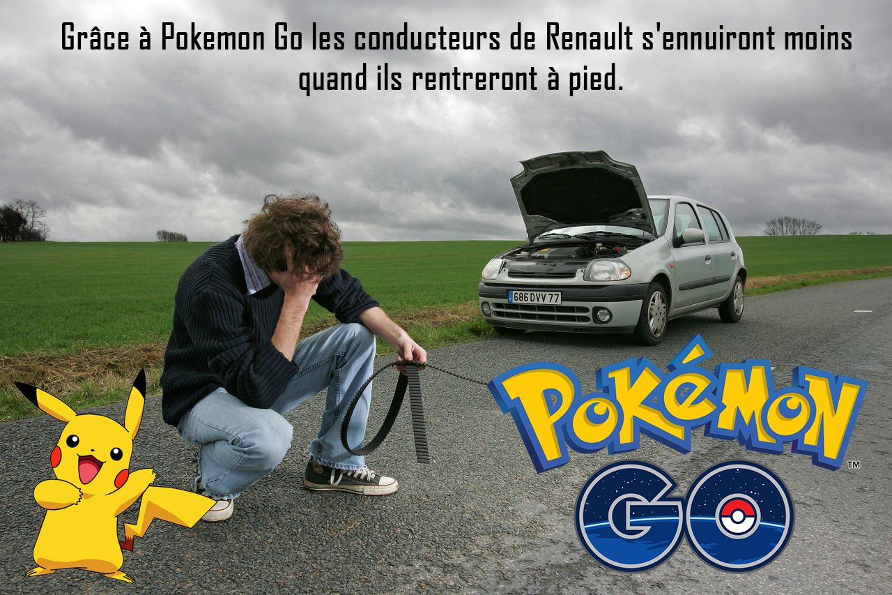 Pokemon Go Renault Pokemon Go Car Humor Pokemon